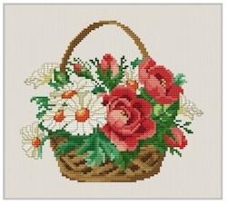click here to view larger image of Daisy Basket (chart)