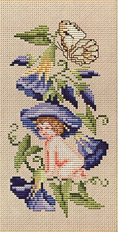click here to view larger image of Eyeglass Case - Flowerfairy  (chart)