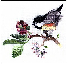 click here to view larger image of Chick Berry (counted cross stitch kit)
