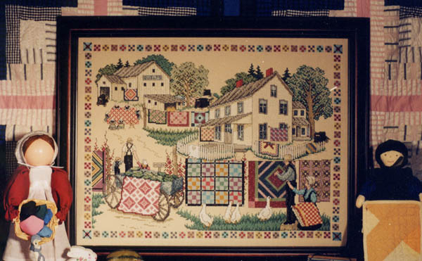 click here to view larger image of Amish Quilt Show (chart)