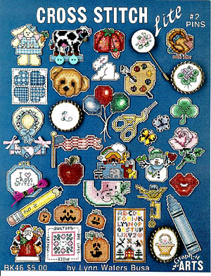 click here to view larger image of Cross Stitch Lite #2 pins (chart)