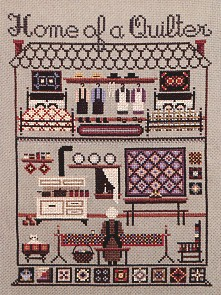 click here to view larger image of Home Of A Quilter (chart)