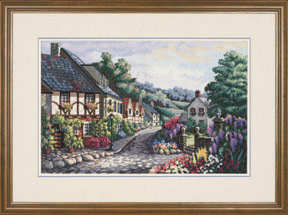 click here to view larger image of Memory Lane (counted cross stitch kit)