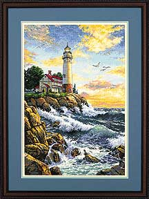 click here to view larger image of Rocky Point (counted cross stitch kit)