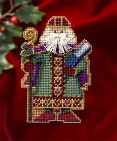click here to view larger image of Saxony Santa (button-bead kit)