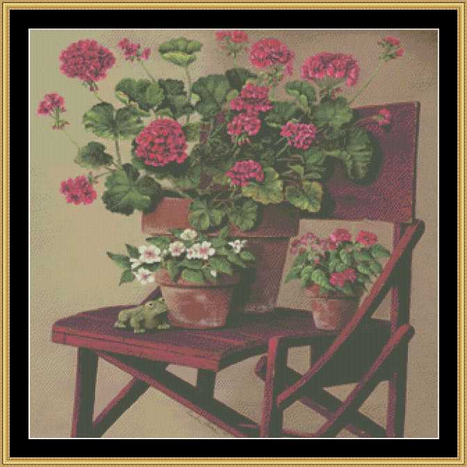 click here to view larger image of Geraniums (chart)