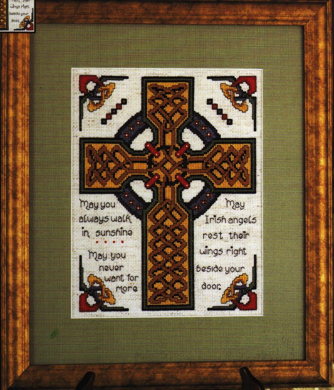 click here to view larger image of Celtic Cross (counted cross stitch kit)