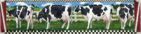 click here to view larger image of Milking Line (hand painted canvases)