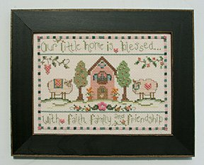 click here to view larger image of Welcome Home Calendar Series January - Our Little House (counted cross stitch kit)