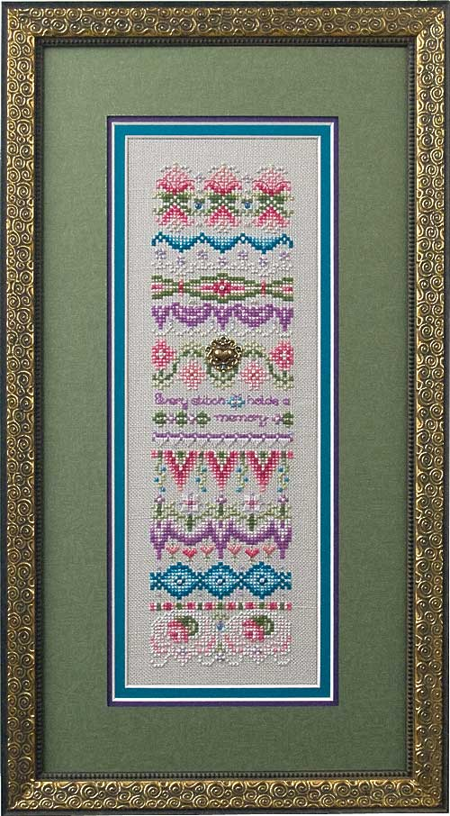 click here to view larger image of Memories (Includes Embellishments) (chart with charms/buttons)