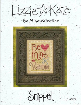 click here to view larger image of Be Mine Valentine - Snippet (chart)