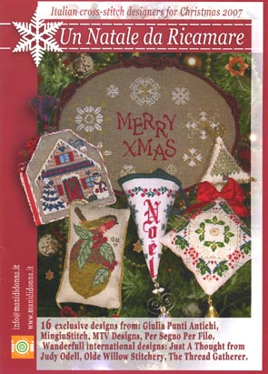 click here to view larger image of Un Natale Da Ricamare Book 2007 (book)