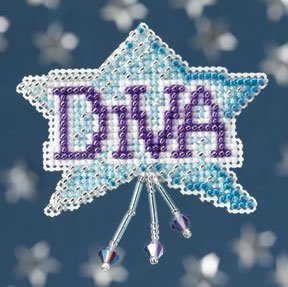click here to view larger image of Diva (2008) (counted cross stitch kit)