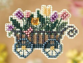 click here to view larger image of Garden Cart (2008) (counted cross stitch kit)