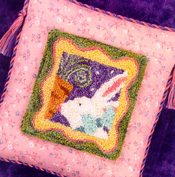 click here to view larger image of Carrot Kisses  (Punchneedle w/ printed fabric) (Punchneedle)