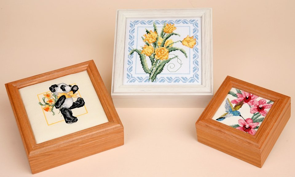 click here to view larger image of Sudberry House - Oak Boxes (accessory)