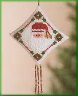 click here to view larger image of Diamond Ho Ho (counted cross stitch kit)
