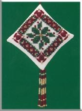 click here to view larger image of Holiday Holly (2000) (counted cross stitch kit)