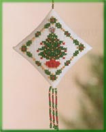 click here to view larger image of Holiday Trimmings (2004) (counted cross stitch kit)