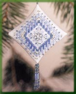 click here to view larger image of Icy Snowflake (2003) (counted cross stitch kit)