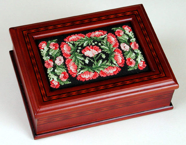 click here to view larger image of Sudberry House - Parquet Jewelry Box (accessory)