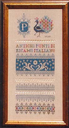 click here to view larger image of Assisi Peacock Sampler (chart)