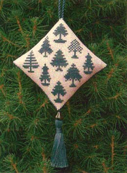 click here to view larger image of Christmas Forest 2003 Ornament (chart)