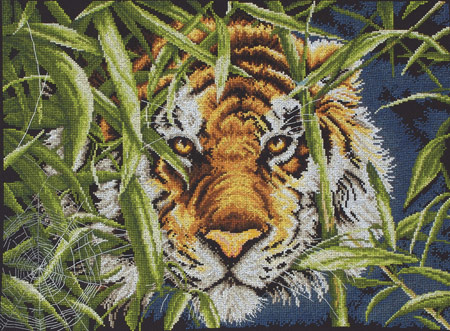 click here to view larger image of Predators Gaze (counted cross stitch kit)