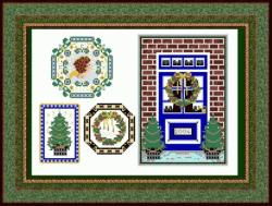 click here to view larger image of Christmas Ornaments 2004 (chart)