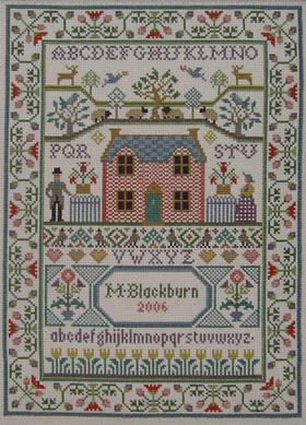 click here to view larger image of Country Cottage Sampler (chart)