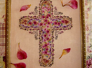 click here to view larger image of Floral Cross (chart)