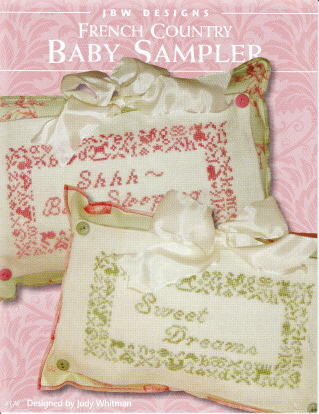 click here to view larger image of French Country Baby Sampler (chart)