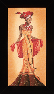 click here to view larger image of African Fashion 1 (counted cross stitch kit)
