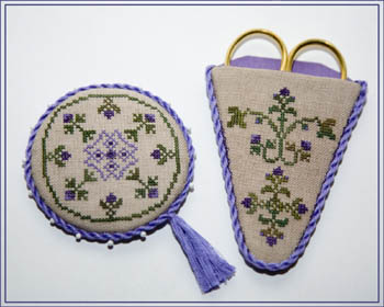 click here to view larger image of Amethyst Collection Scissors Case and pin keep (chart)