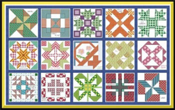 click here to view larger image of Quilt Sampler (chart)