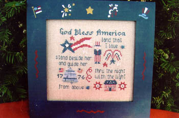 click here to view larger image of God Bless America (chart)