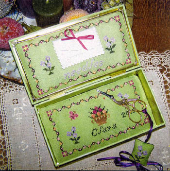 click here to view larger image of My First Sewing Box & Scissor Fob (chart)