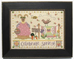 click here to view larger image of Welcome Home Calendar Series March - Celebrate Spring (counted cross stitch kit)