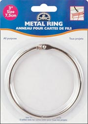 "click here to view larger image of Metal Ring 3"" (accessory)"