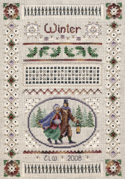 click here to view larger image of Miniature Winter Sampler (chart)