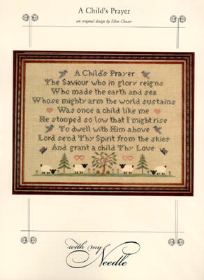 click here to view larger image of Child's Prayer, A (chart)