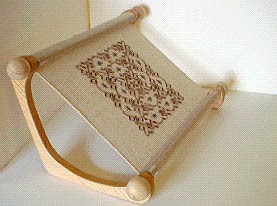 click here to view larger image of  Doodler Stitching Frame (w/3 dowels) (accessory)