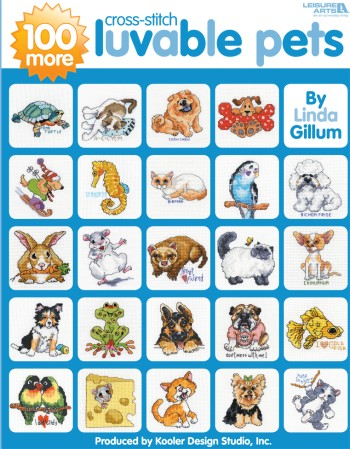 click here to view larger image of 100 More Luvable Pets (chart)