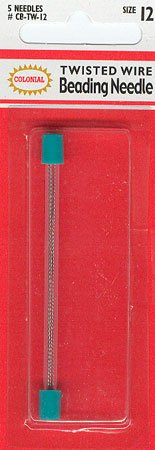 click here to view larger image of Beading Needle (Twisted Wire) - size 12 - Colonial (needles)