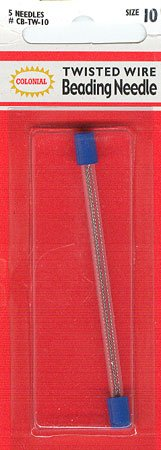 click here to view larger image of Beading Needle (Twisted Wire) - size 10 - Colonial (needles)