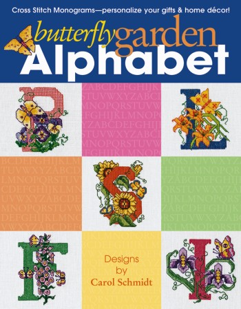 click here to view larger image of Butterfly Garden Alphabet (book)