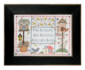 click here to view larger image of Welcome Home Calendar Series May - Bless You Today (counted cross stitch kit)