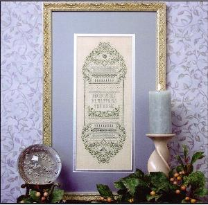 click here to view larger image of Sparkling Forget-Me-Not Sampler (chart)