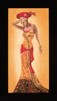 click here to view larger image of African Fashion II - 27ct (counted cross stitch kit)