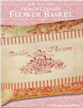 click here to view larger image of French Country Flower Basket (chart (special))